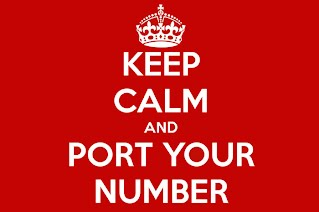 Keep Calm and Port Your Number